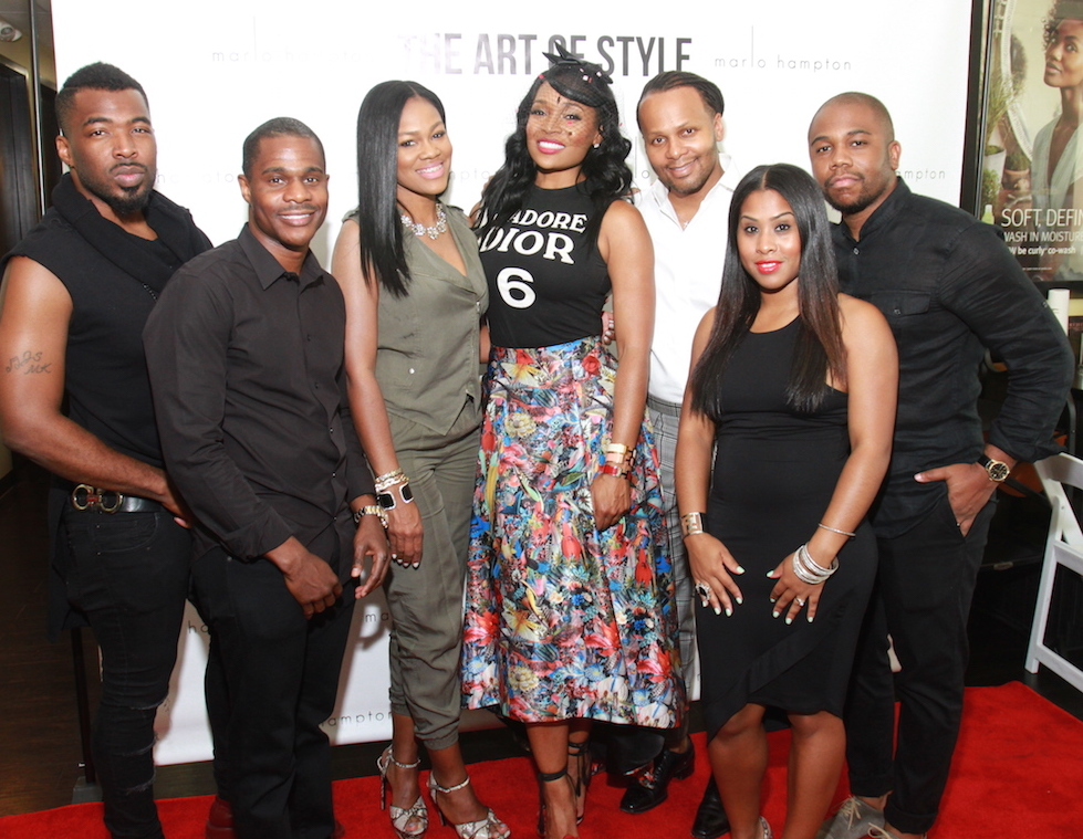 The Art of Style with Marlo Hampton. (Photography/Gary Fountain, August 23, 2015)