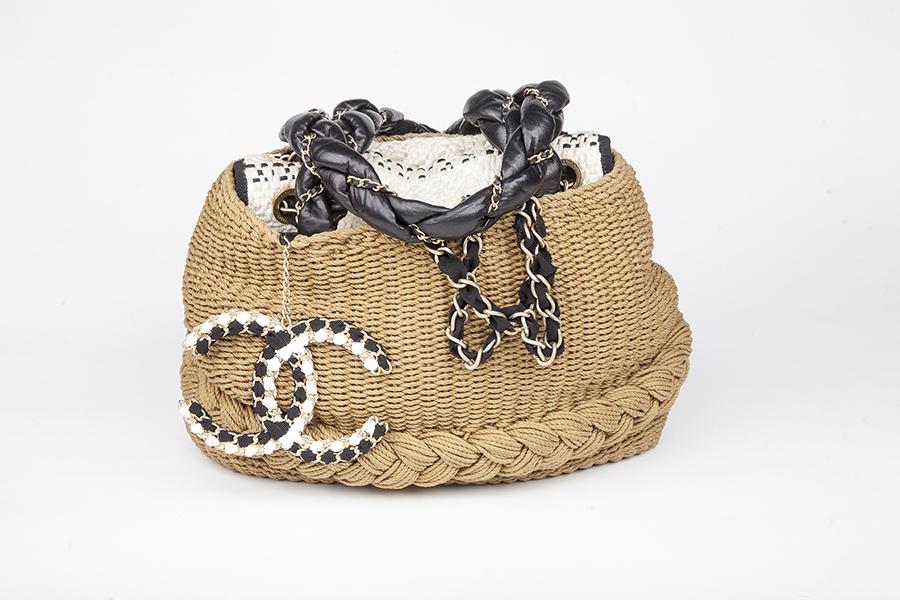 Chanel Straw Bag