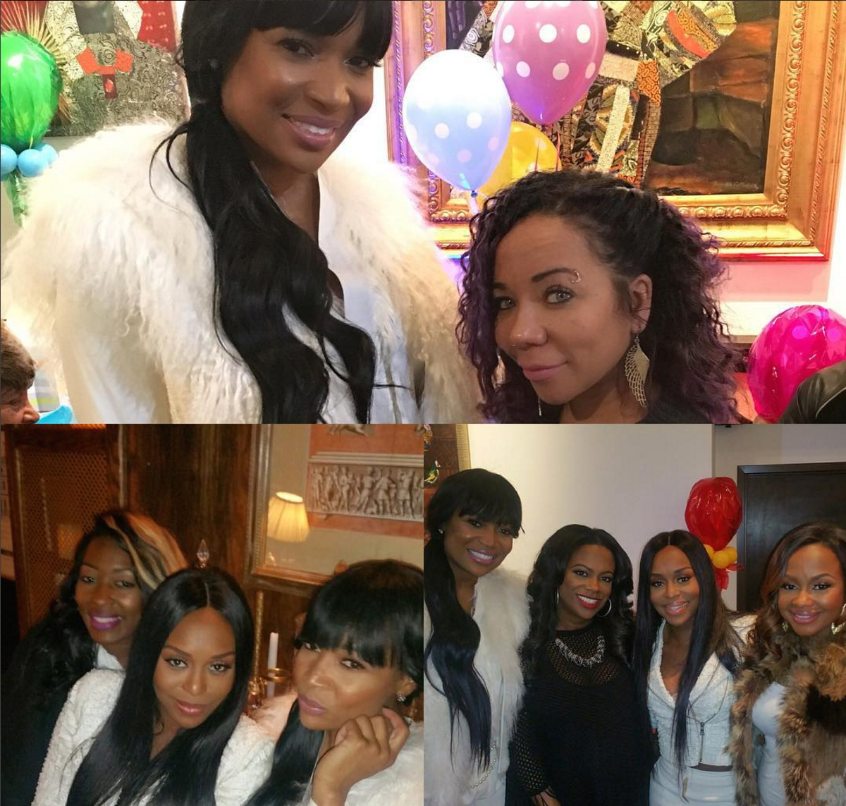Marlo at Baby Shower