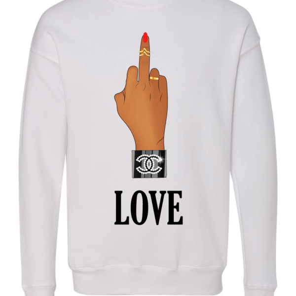 love-finger-white